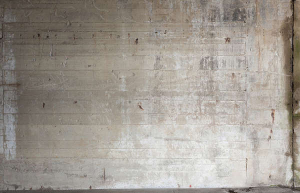 concrete bunker bare indoor inside interior seam