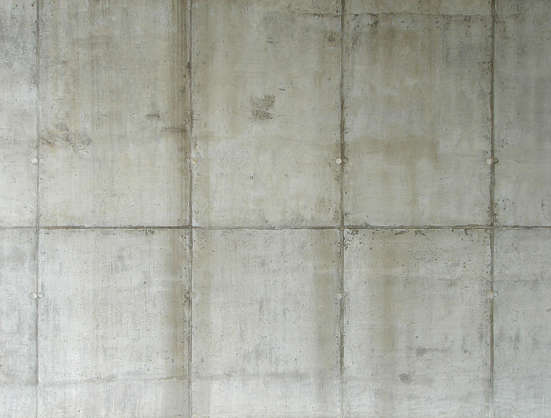 concrete bare seam