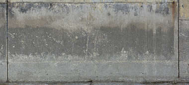 UK concrete dirty old