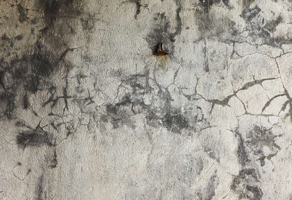 concrete damaged dirty
