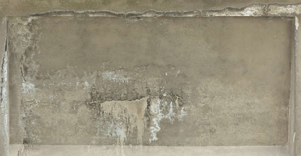 concrete ceiling old weathered dirty bare