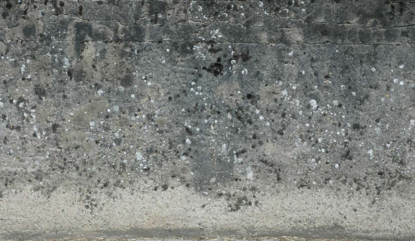 concrete dirty mould