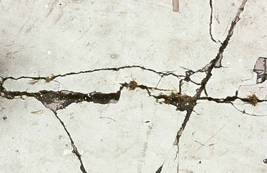 concrete floor damaged crack cracked cracks