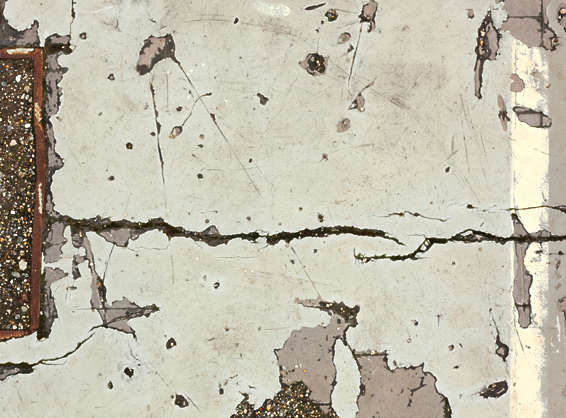 concrete floor damaged crack cracked