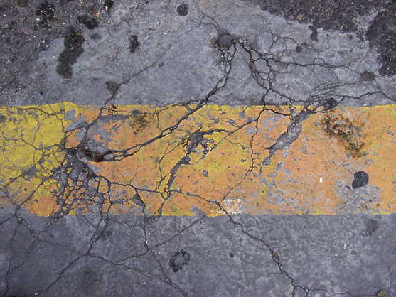 concrete rough cracks cracked paint damaged asphalt tarmac