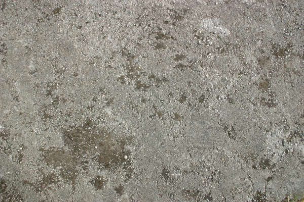 concrete floor dirty bare