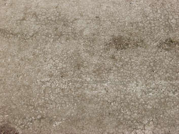 concrete bare dirty stains crackles sand floor ground