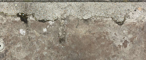 concrete floor ground border edge