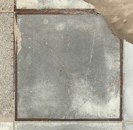 concrete floor slab slabs parking street tile tiles