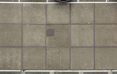 parking lot concrete slabs slab floor terrain