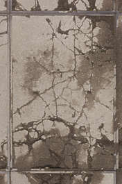 concrete plates plate ground floor cracked cracks