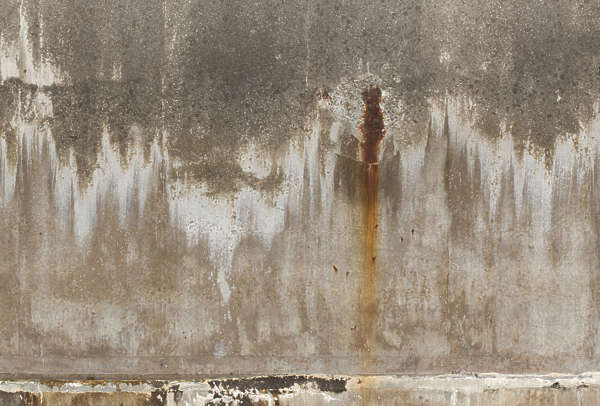 concrete leaking bare rust grunge grungemap