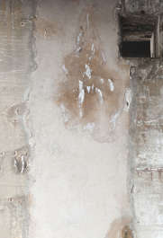 concrete bare dirty stain leaking