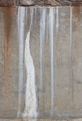concrete leaking UK