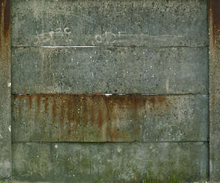 concrete bare dirty wall