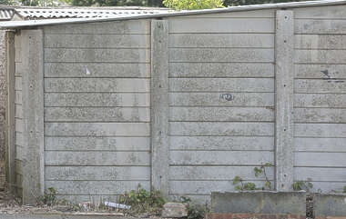 concrete fence plates UK