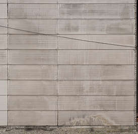 concrete bare panels wall japan