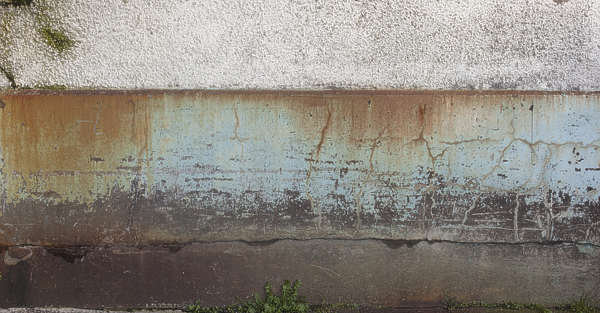 concrete painted worn paint old
