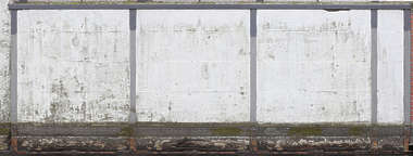 concrete slabs painted weathered worn