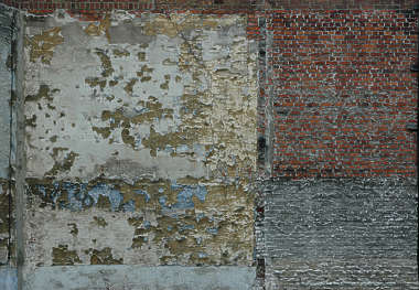 concrete paint plaster crackles bricks old worn weathered