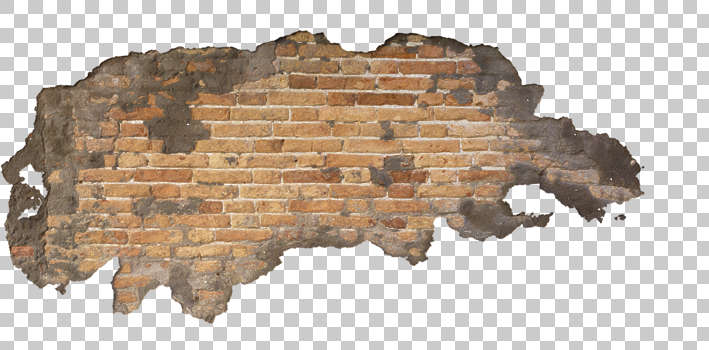 Damaged Brick Wall Decals