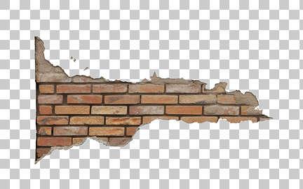Brick Wall Damage Alpha Masked Transparent Decals