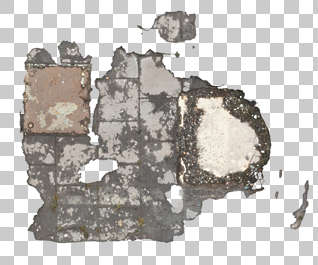 decal masked damage floor hole concrete isolated alpha