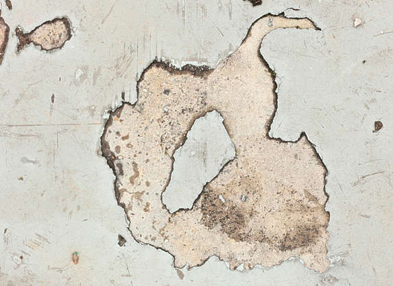 decal masked damage concrete floor hole isolated alpha