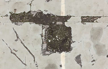 decal masked damage damaged floor hole concrete alpha isolated