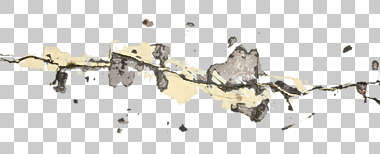 decal masked damage floor concrete cracked cracks crack alpha isolated