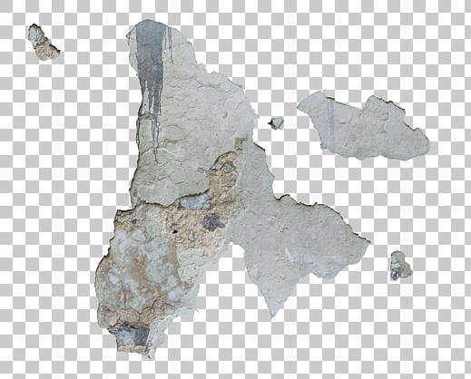 decal masked alpha plaster damaged isolated