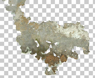 decal plaster damaged worn paint isolated masked alpha