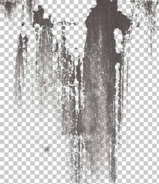 Rusty Metal Texture Seamless DecalsLeaking0183 - Fr...