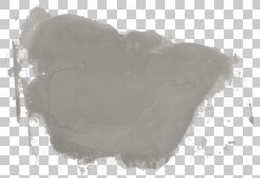 plaster patched cement masked alpha decal isolated
