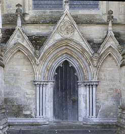 UK church cathedral arch door medieval