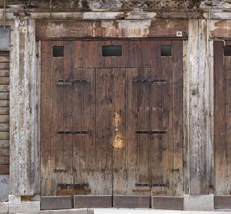 venice italy door wooden old medieval