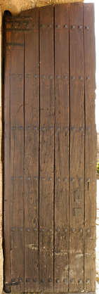 door planks wood medieval