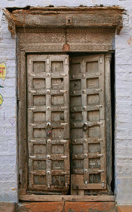 india door wood old medieval
