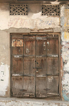 india door wood old medieval double