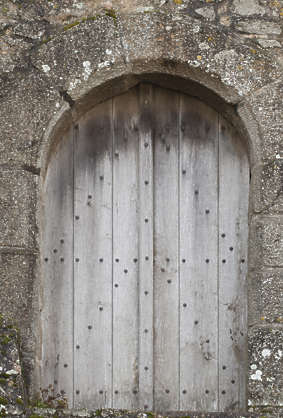 door wood single double medieval old