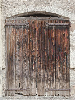 door wood double old medieval