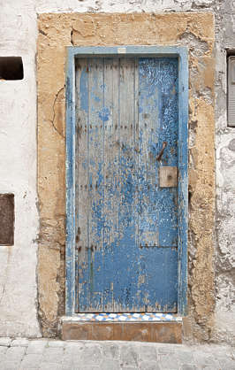 morocco door wood old