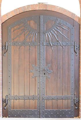 Doorsmedieval0458 Free Background Texture Door Double