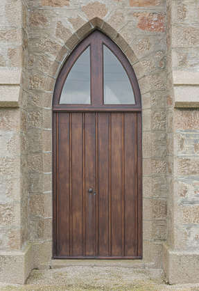 door wooden medieval UK