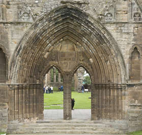 door medieval archway cathedral UK