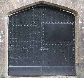 door double medieval double painted new UK