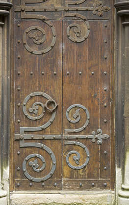 door single medieval wooden UK