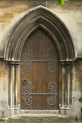 Doorsmedieval0502 Free Background Texture Door Single Medieval Arch Wooden Uk