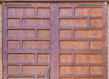 wood studded armored old medieval door panels panelled morocco