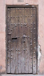 morocco door wood old medieval
